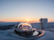 Measuring the atmosphere in the Canadian high Arctic
