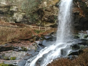 Dry Falls in Highlands, NC