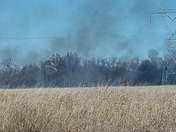 LARGE GRASS FIRE
