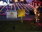 Christmas lights for Children's Miracle Network