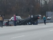 Accident near Clemmons exit on i-40 west