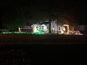 The Williams Family Christmas Lights This year