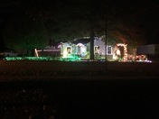 "Christmas Light Display From "" The Williams Family "" For all from Love of the se"