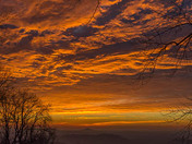 Sunrise on Fire
