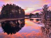 Arlington Lake Sunrise 12/4/16