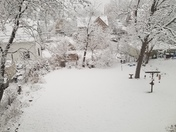 1st snow in City of Waukesha
