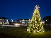 Christmas comes to Wayland Town Center