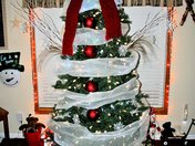 Margie Snow Man Tree