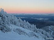 Last Nights Sunset on Jay Peak