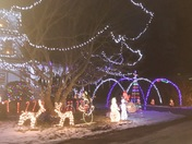 Christmas light in spofford nh