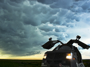 Mammatus Clouds and the Dominator 3