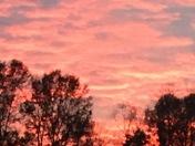 November and December Okolona Sunset