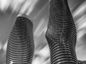 Marilyn Monroe Towers Monochrome