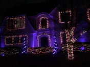 East Hill Christmas Light Show