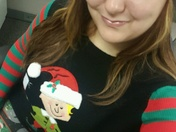 National ugly christmas sweater day at work