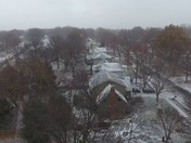 Snow Over Overland Park, KS