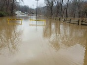 Waynesburg various locations flooded