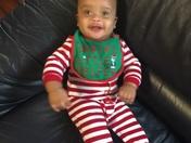 Brayden's Christmas Pictures