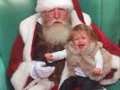 Went to visit Santa