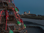 Christmas Tree and Nubble Lighthouse