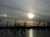 Sun dogs Howling