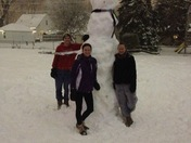 Lopsy the Snowman