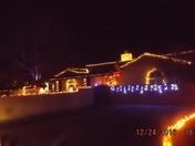 Luminarias in Ridgecrest/Carlisle neighborhood