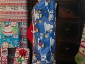 Epic husband wrapping job!