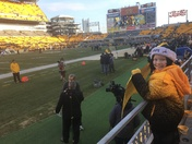 First steelers game!