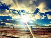 Sunny Sky in Santa Fe