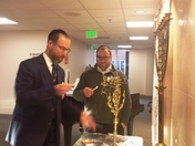 Levindale Auxiliary Hosts Chanukah Menorah Lighting for Residents