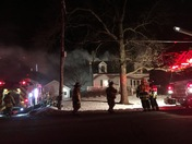 Fire at 1101 Lisbon ave in Hartland, Wis. 8:15 p.m.
