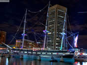 Fireworks - New Years Even 1 jan 2017 Baltimore Harbor