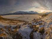 Kluane Park panoramic view