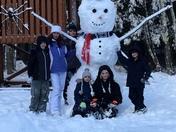 MASSIVE SNOWMAN!!!
