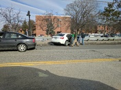 Accident Brighton Avenue at the Barron Center