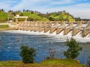 Nimbus Dam on January 6, 2017