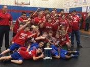 Gentry Middle School Wrestling Champions