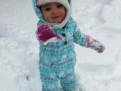 Cutest Snow Bunny!