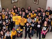 Rooting for the Steelers in cougar country