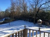 Snow in Tuscaloosa ❄️❄️❄️