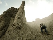 A cold climb