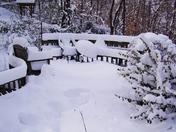 Snow January 07, 2017 Danbury, NC.