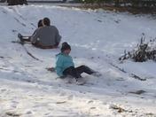 Sibling sled races