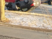 overturned near mondawmin mall on gwynns falls