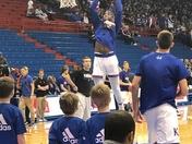 KU Jayhawks Men's basketball game