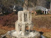 My Frozen Fountain..