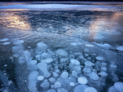 "Abraham Lake ""Frozen Bubbles"""