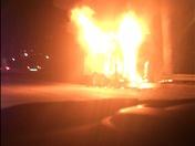 Fire on I-4 12/11/17
