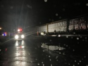 Car hit by a train in Sutersville